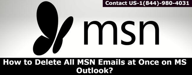 MSN customer support number- 1(844)-980-4031