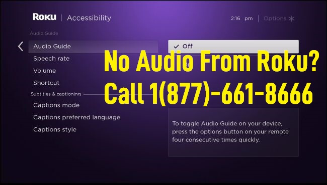 Fix No Audio from Roku Device
