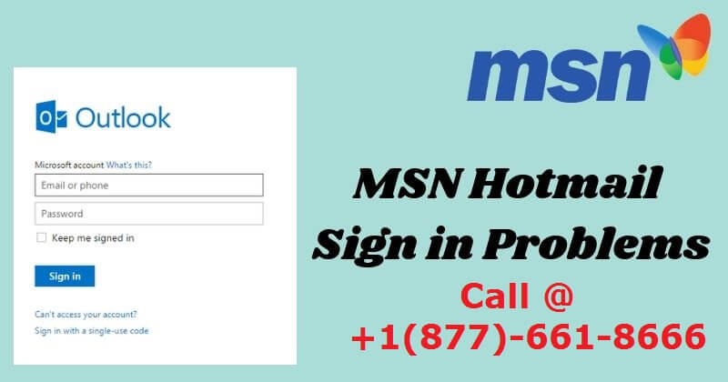 Fix Sign in Issue with MSN Email