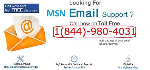 Msn-email-support-1(844)-980-4031