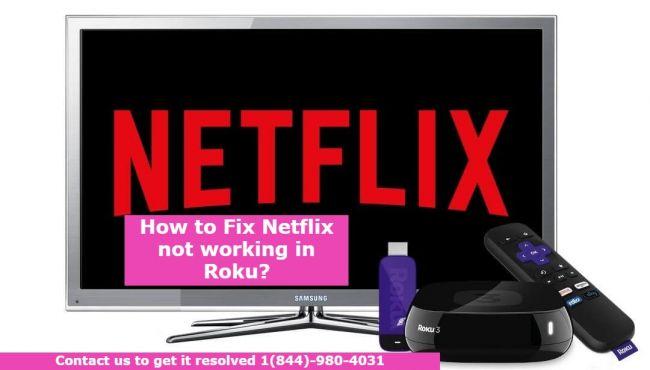 Netflix not working in Roku