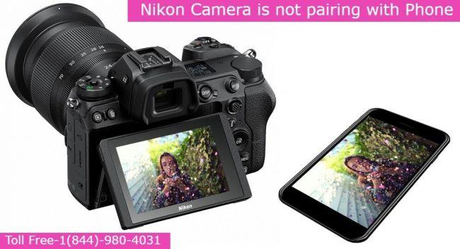 nikon-camera-not-paring-with-phone- 1(844)-980-4031