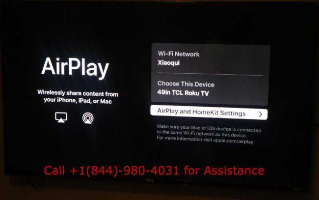 How to use Apple airplay on Roku
