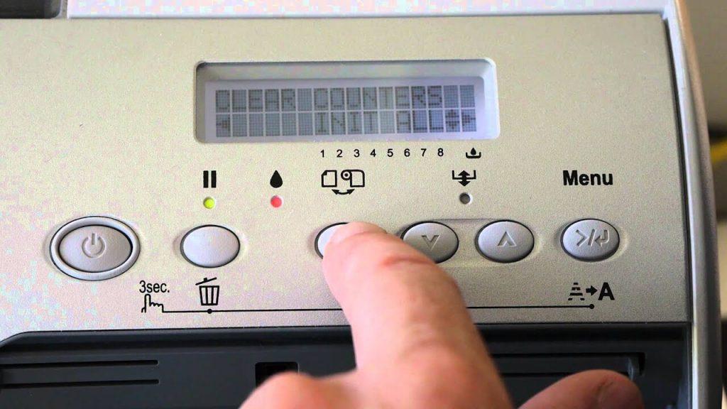 Fix MNT TK NEAR FULL error on Epson Printer