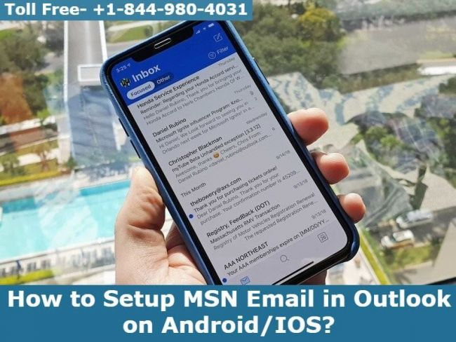 How to Setup MSN Email in Outlook on Android/IOS